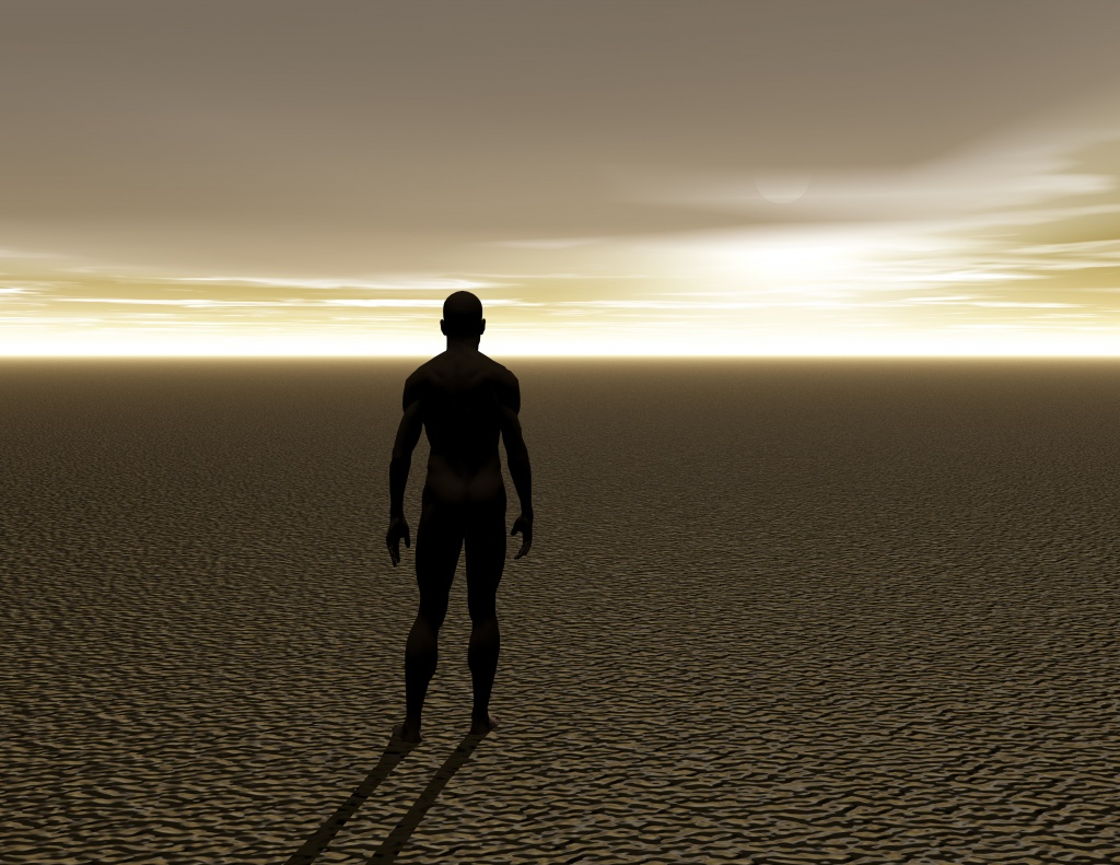Digital Visualization of a Man
